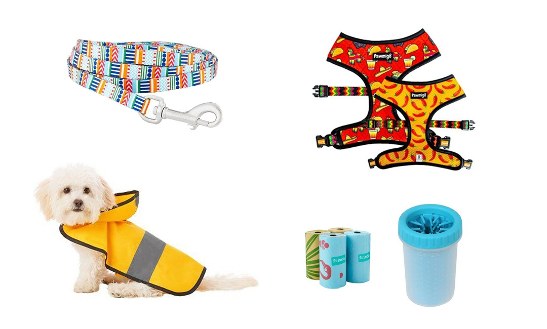 Cute Dog Walking Accessories For Your Pup | NurturedPaws.com/Blog